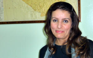 "Nabila Amir, journaliste du quotidien ""El Watan"""