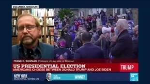 2020-11-04 04:07 US Presidential Election 2020, americans choose between Donald Trump and Joe Biden