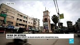 2020-03-06 14:04 War in Syria: 15 killed as deadly clashes erupt in Idlib hours into ceasefire deal