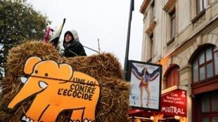 Activistes Extinction Rébellion