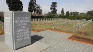 Le carré allemand dans le cimetière militaire de Casablanca