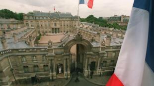 قصر الإليزيه مقر الرئاسة الفرنسية