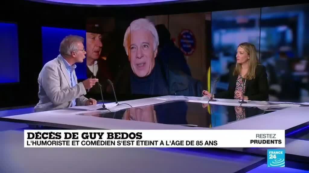 2020-05-28 19:13 Guy Bedos, l'homme de scène engagé, est décédé
