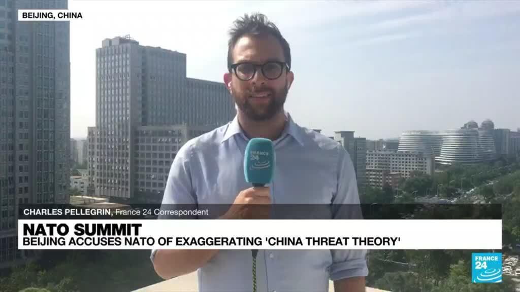 2021-06-15 09:34 Beijing accuses NATO of exaggerating 'China threat theory'
