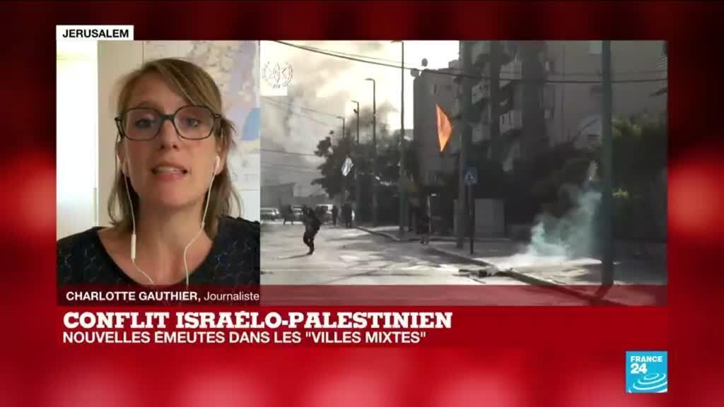 2021-05-13 15:00 Conflit israelo-palestinien : le Hamas lance une roquette vers le deuxième aéroport d'Israël