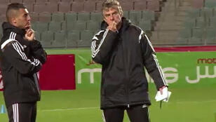 كريستيان غوركوف المدرب الفرنسي للمنتخب الجزائري لكرة القدم