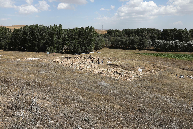 Le temple sur le site dans le centre de la Turquie est dédié au dieu de la tempête Deshup