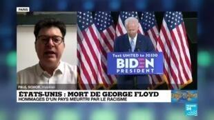 """2020-06-09 16:03 Mort de George Floyd : """"Le débouché politique est déjà là"""""""