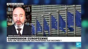 2021-05-03 12:07 Bruxelles propose de permettre l'entrée dans l'UE aux voyageurs vaccinés de pays tiers
