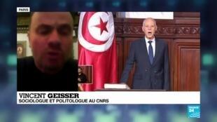 2020-01-14 22:04 En Tunisie, 9 ans après la révolution, les problèmes économiques et sociaux demeurent