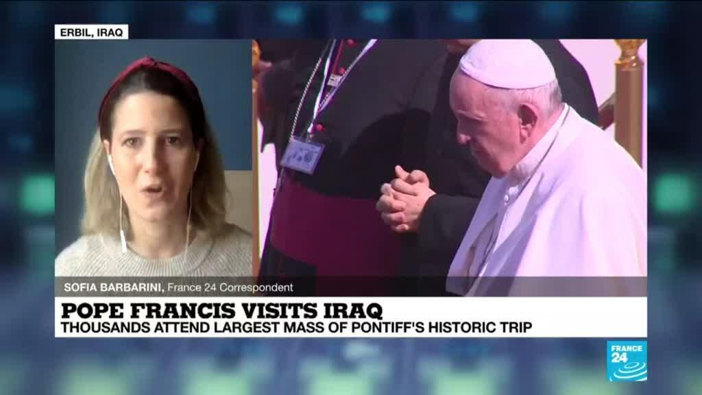 2021-03-08 09:09 After historic whirlwind visit, Pope leaves Iraq for Rome
