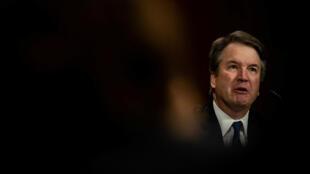 Brett Kavanaugh, juez y candidato a la Corte Suprema, testifica sobre acusaciones de agresión sexual frente a la Comisión Judicial del SEnado en Washington D.C., EE. UU., el 27 de septiembre de 2018.