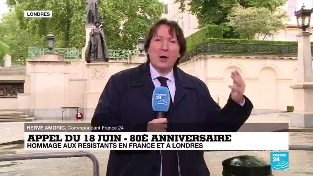 2020-06-18 14:03 Appel du 18 juin : Macron accueilli à Londres par le prince Charles