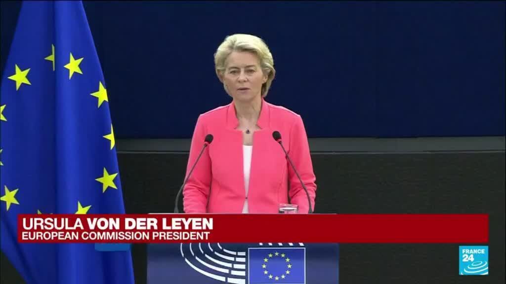 2021-09-15 09:06 REPLAY. State of the EU speech: Ursula von der Leyen hails EU achievements, sets new goals