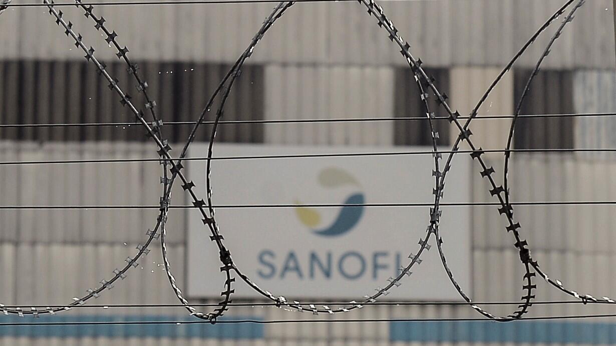 Esta fotografía de archivo tomada el 16 de octubre de 2018 muestra una vista de una fábrica de la compañía farmacéutica francesa Sanofi en Mourenx, suroeste de Francia.