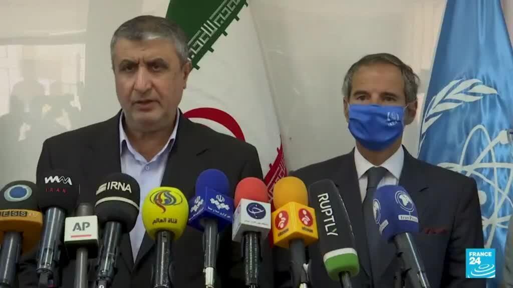 2021-09-12 19:05 Irán permitirá que los inspectores de la ONU monitoreen plantas nucleares