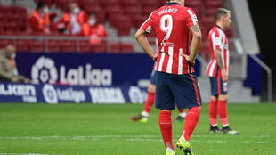 Atletico Madrid missed the chance to extend their lead at the top of La Liga on Saturday.