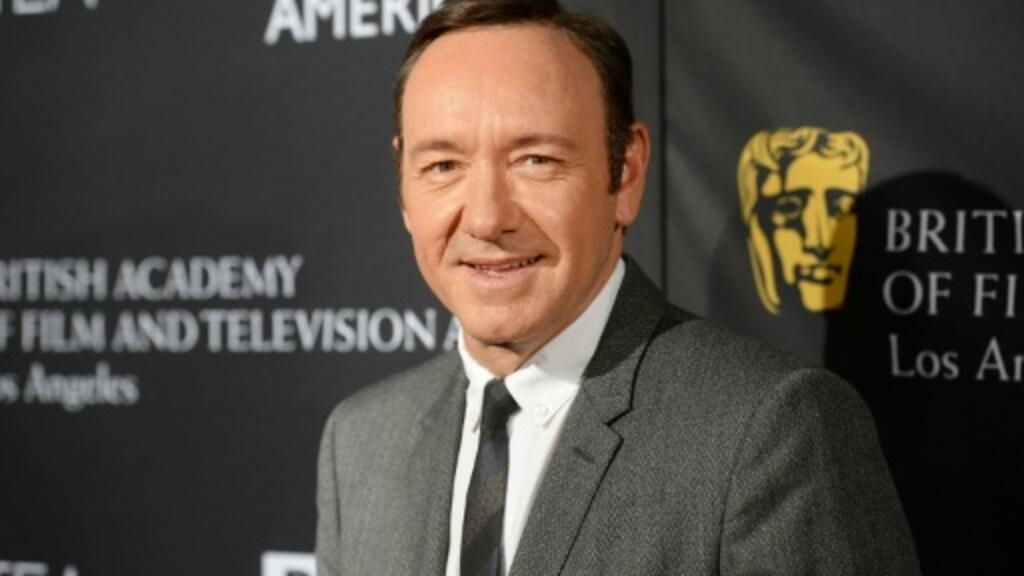 Kevin Spacey makes first public appearance in 2 years in Rome