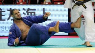 L'Egyptien Islam El Shehaby lors du Grand Slam de Tokyo en 2010.