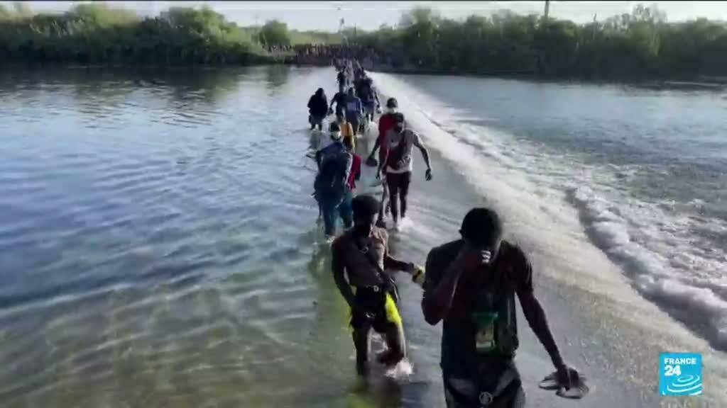 2021-09-17 17:07 Frontière Etats-Unis / Mexique : multiplication des arrestations face à l'afflux de migrants