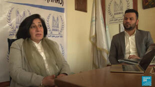 Pascale Warda, head of the Hammurabi organisation, which helps disenfranchised Christians in Iraq.