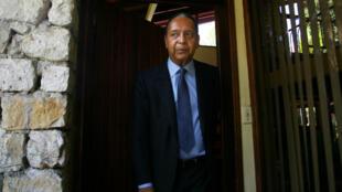 L'ancien président haïtien Jean-Claude Duvalier à son retour à Port-au-Prince en 2011.