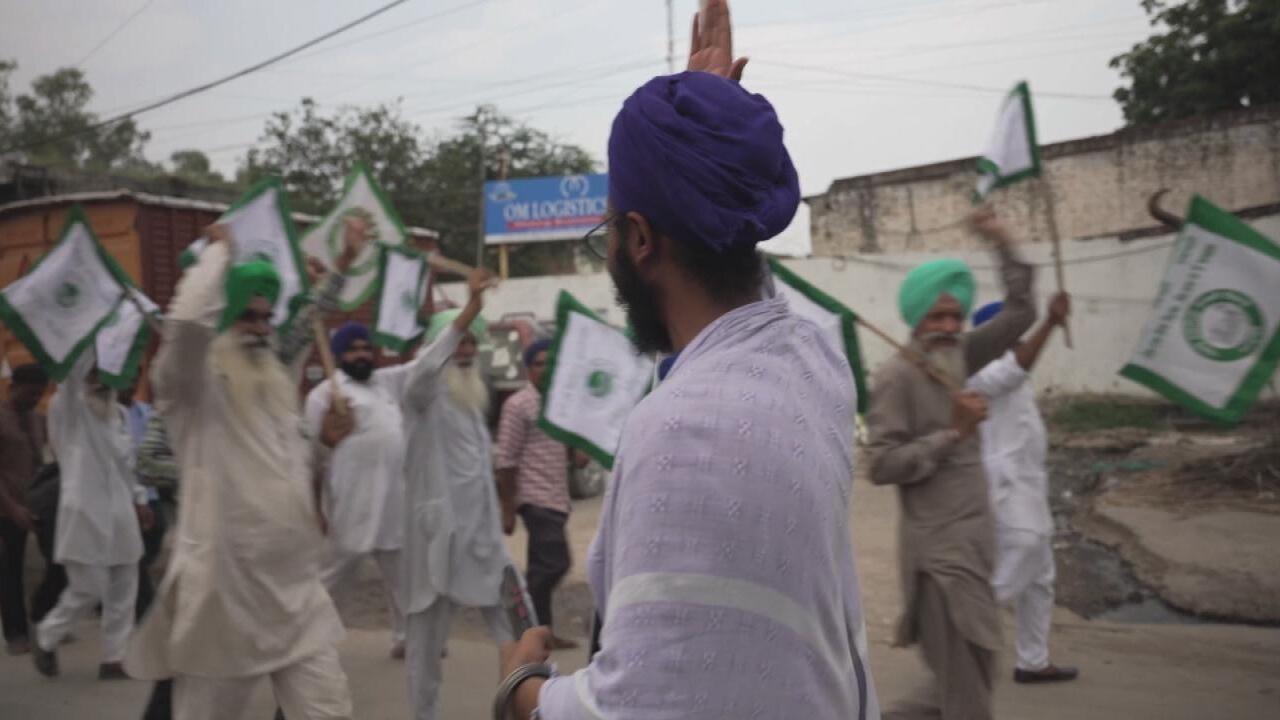 Focus - Inde : les agriculteurs en colère poursuivent leur mobilisation contre la libéralisation du secteur