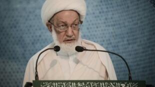 أبرز المراجع الدينية الشيعية في البحرين الشيخ عيسى قاسم