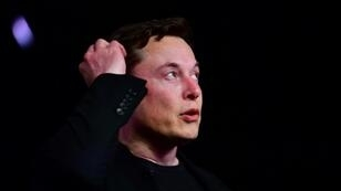 Elon Musk, le patron de Tesla, le 14 mars 2019 à Hawthorne, en Californie