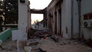 """غارة على مركز تابع لمنظمة """"أطباء بلا حدود"""" في قندوز في 03 تشرين الأول/أكتوبر 2015"""