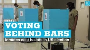 Vignette voting behind bars