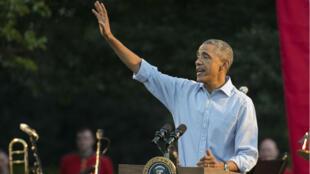 Le président Barack Obama, le 17 septembre à Washington.