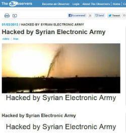"""La page des Observateurs de France 24 """"hackée"""""""