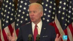 """2020-06-02 18:01 Mort dev George Floyd : Biden accuse Trump d'utiliser l'armée """"contre les Américains"""""""