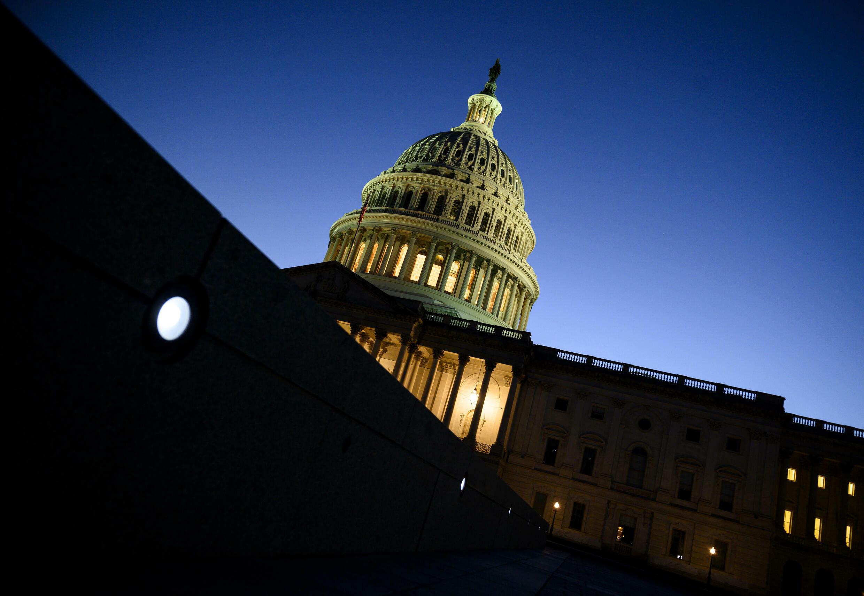 El Capitolio, sede del Congreso de Estados Unidos en Washington el 1 de octubre de 2021