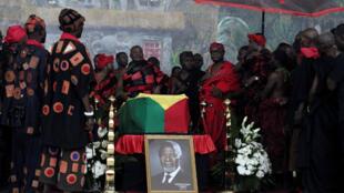 Diferentes líderes rinden tributo a Kofi Annan en Ghana, antes de su funeral de Estado en la ciudad de Accra, el 12 de septiembre de 2018.