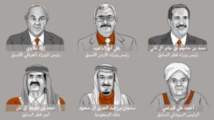 """عدد من الشخصيات العربية الواردة أسماؤهم في """"وثائق بنما"""""""