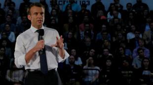 El presidente francés, Emmanuel Macron, cerró una visita de Estado de tres días en Estados Unidos el 25 de abril de 2018.