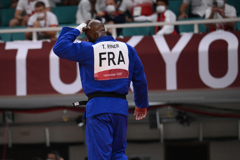 Teddy Riner jo tokyo judo