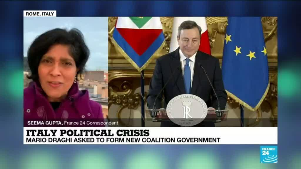 2021-02-04 08:11 Draghi calls for 'unity' as tries to form Italian govt