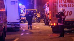 Le 10 décembre, au moins 38 personnes ont été tuées dans un attentat près d'un stade de foot d'Istanbul, une attaque revendiquée par le TAK.