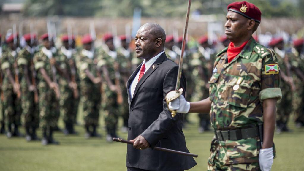Le président Pierre Nkurunziza lors du 53eanniversaire de l'indépendance du Burundi, le 1er juillet 2015.