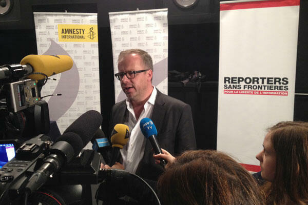 Christophe Deloire, secrétaire général de Reporters sans frontières