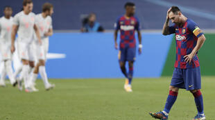 Lionel Messi has upped the ante in his bid to leave Barcelona