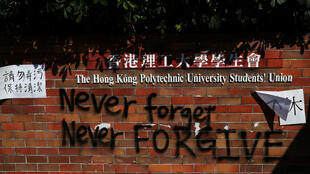 23112019 hong kong protests at university