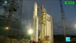2019-11-27 10:40 Ariane 5 takes off for its 250th flight