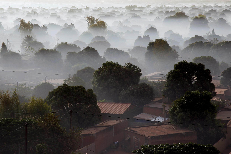 Bobo-Dioulasso, Burkina Faso's largest city. Thomas Sankara said every household should plant a tree, including in urban areas.