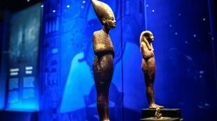 Egyptian authorities say the show displays the largest number of Tutankhamun artefacts ever to have left Cairo