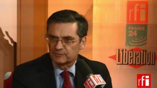 Patrick Devedjian, député et président UMP du conseil général des Hauts-de-Seine.