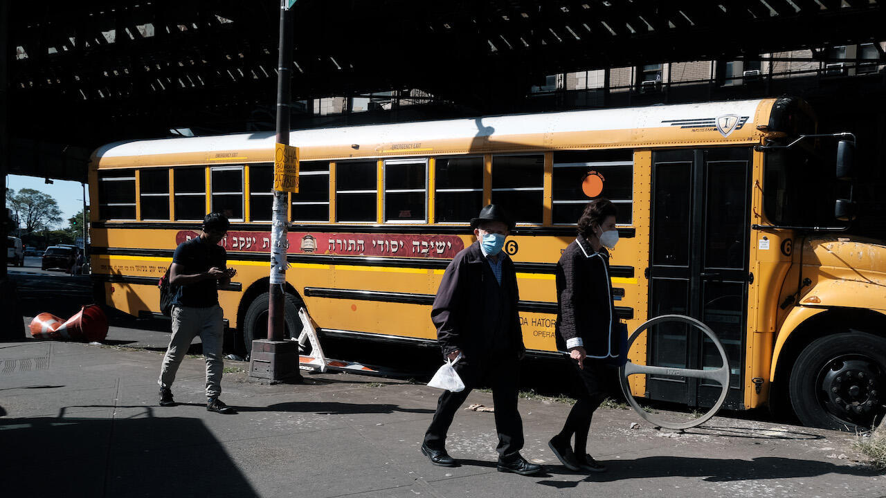 NYC school bus borough park